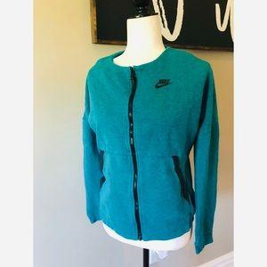 Nike teal athletics jacket